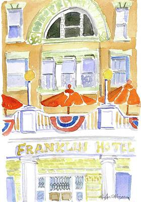 Painting - Deadwood-franklin Hotel by Rodger Ellingson