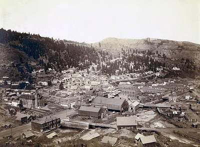 Deadwood South Dakota  1888 Art Print