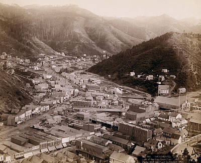 Deadwood South Dakota 1888 - No. 4 Art Print
