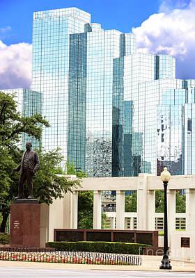 Photograph - Dealey Plaza Dallas by John Rizzuto