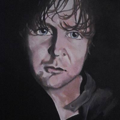 Painting - Dean Ambrose Portrait by Susan Solak