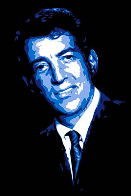 Dean Digital Art - Dean Martin by DB Artist