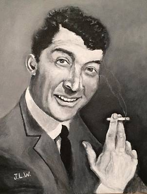 Painting - Dean Martin by Justin Lee Williams