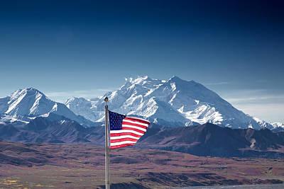 Alaska Photograph - Denali Salute by Ed Boudreau