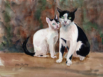 Painting - Deano And Sparky by Mimi Boothby