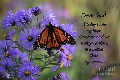 Photograph - Dear God by Diane E Berry