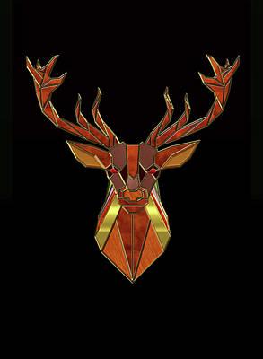 Photograph - Deer Head by Carlos Diaz