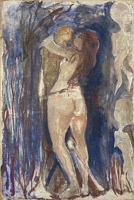 Painting - Death And Life by Edvard Munch