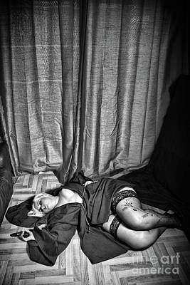 Fat Woman Photograph - Death At The Vicarage By Mary Bassett by Mary Bassett