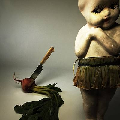 Surrealism Photograph - Death Of A Vegetable by Subject Dolly
