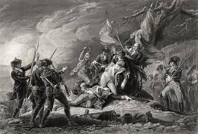 Death Of General Montgomery Battle Of Art Print