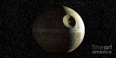 Star Wars Photograph - Death Star by Baltzgar