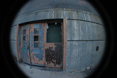 Photograph - Death Stars Back Door by Artist Orange