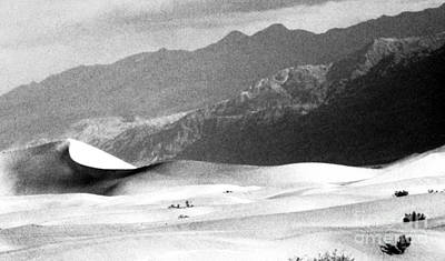 Conversion Digital Art - Death Valley 1977 by Norman  Andrus