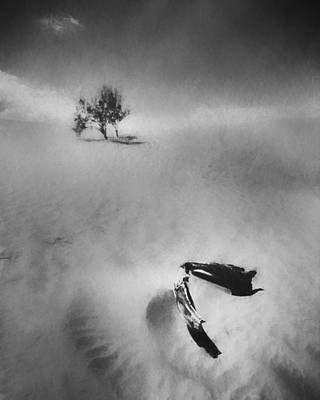 Charcoal Photograph - Death Valley 1990 by Scott Norris
