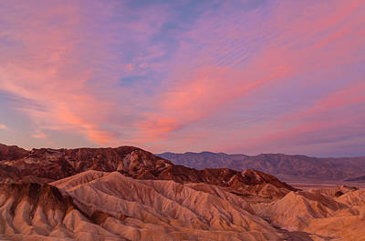 Photograph - Death Valley And The Red Dawn by Jonathan Nguyen