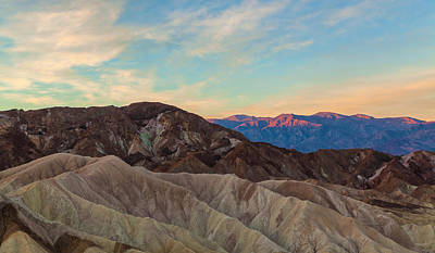 Photograph - Death Valley At First Light by Jonathan Nguyen