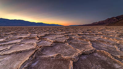 Photograph - Death Valley Bad Water by Pierre Leclerc Photography