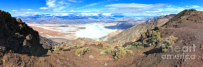 Photograph - Death Valley Dante's View Panorama by Adam Jewell