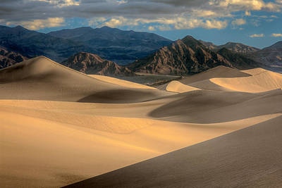 Photograph - Death Valley Dunes 2011 by Ralph Nordstrom