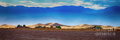 Photograph - Death Valley Dunes by Ron Sadlier