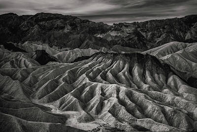 Death Valley Formation Art Print by Joseph Smith