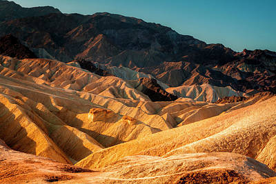 Photograph - Death Valley Formations by Andrew Soundarajan