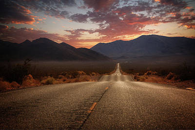Photograph - Death Valley Highway II by Ricky Barnard