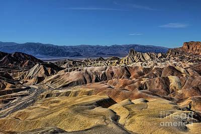 Digital Art - Death Valley by Jason Abando