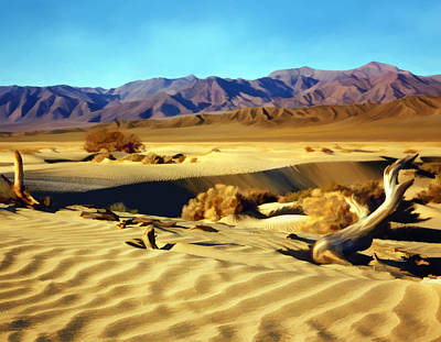 Photograph - Death Valley by Kurt Van Wagner