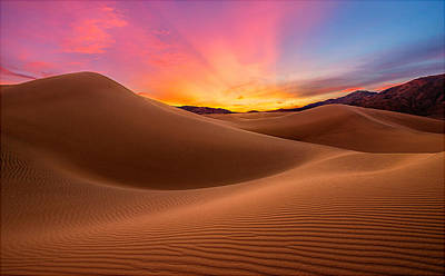 Photograph - Death Valley by Lincoln Harrison