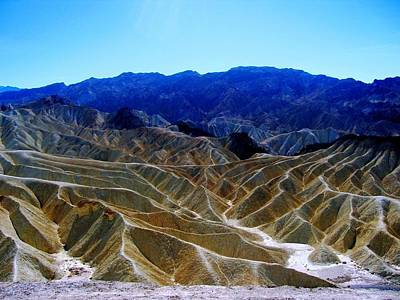 Art Print featuring the photograph Death Valley Moguls by Don Struke