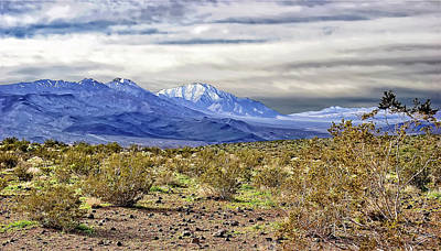 Photograph - Death Valley Mountains by Endre Balogh