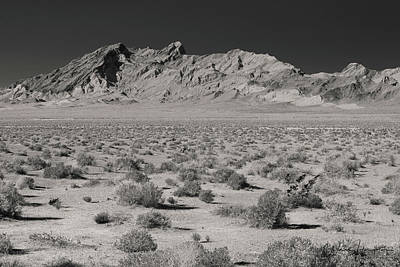 Photograph - Death Valley, Nv - 1686,sw by Wally Hampton