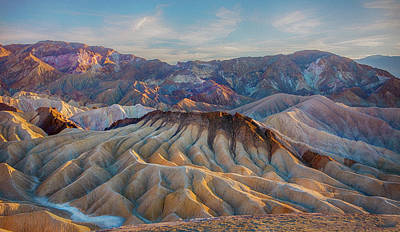 Photograph - Death Valley Palette  by Patricia Dennis