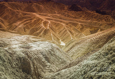 Photograph - Death Valley Pastels by Blake Webster