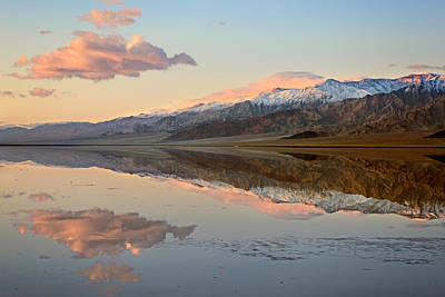 Photograph - Death Valley Reflections 2009 by Ralph Nordstrom