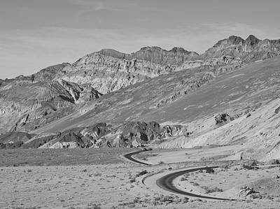 Photograph - Death Valley Road by Frank DiMarco
