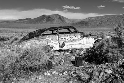 Music Figurative Potraits - Death Valley Roadmaster by Rick Pisio