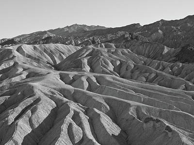 Photograph - Death Valley Rock Formations by Frank DiMarco
