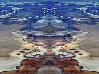 Death Valley Photograph - Death Valley Salt Flats Mirror by Kyle Hanson