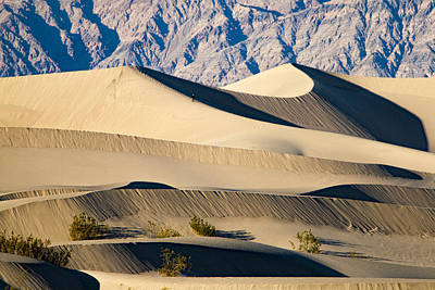 Photograph - Death Valley Sand Dunes 2 by Jim Moss