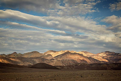 Mountain Royalty-Free and Rights-Managed Images - Death Valley Sky by Ricky Barnard
