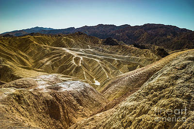 Photograph - Death Valley Southern View by Blake Webster