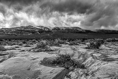 Photograph - Death Valley Storm by PhotoWorks By Don Hoekwater