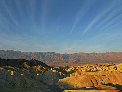 Photograph - Death Valley Sunrise by Inge Riis McDonald