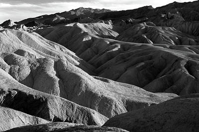 Photograph - Death Valley Sunset by Inge Riis McDonald
