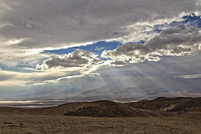 Photograph - Death Valley Sunset by Jim Moss