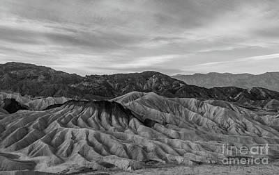 Photograph - Death Valley Undulating Hills  by Jeffrey Hubbard