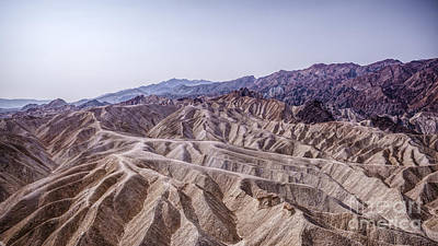 Photograph - Death Valley - Zabriskie Point by Daniel Heine